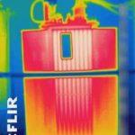 Bewertung von unter Spannung stehenden Transformatoren.