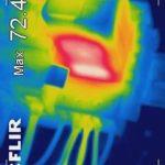 Überwachung von Verschleiß und Übergangswiderständen zum vorbeugenden Brandschutz in elektrischen Anlagen.