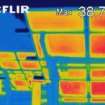 Thermografie an PV-Anlagen