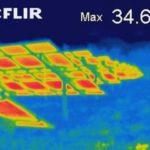 Wärmebildaufnahmen an PV-Anlagen