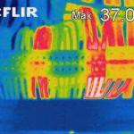 Bewertung von Temperaturen und Auslastung an Klemmen und Leitungen in elektrischen Anlagen.